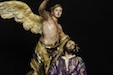 Un ángel consuela a Jesús