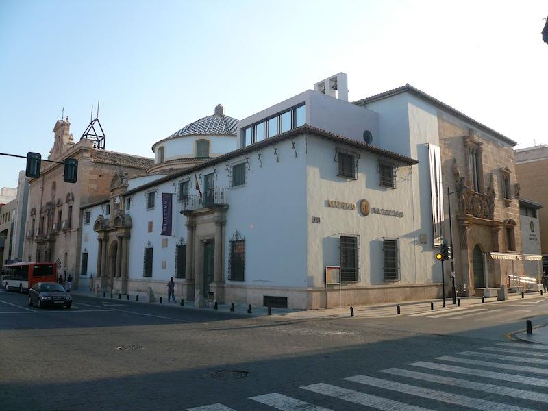 Exterior del Museo Salzillo, Murcia