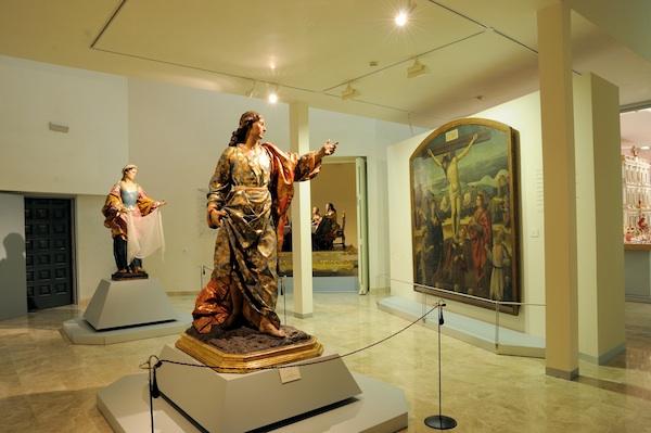 Sala con parte de la colección del Museo Salzillo