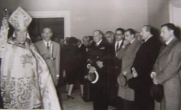 Inauguración del Museo Salzillo en 1960