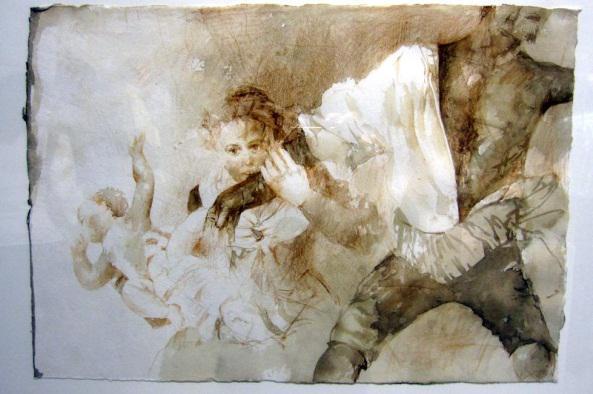Cartel de Exposición de Pedro Cano