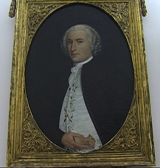Retrato de Salzillo, por Juan Albacete
