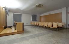 Imagen de la sala de proyección