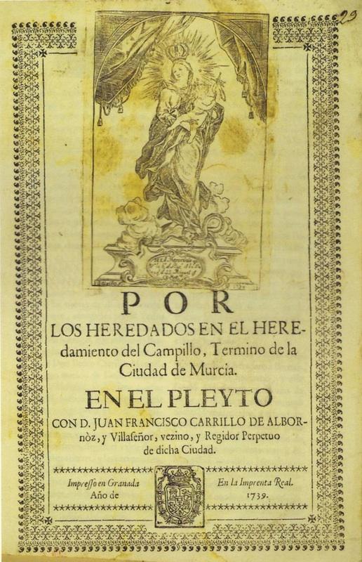Virgen del Patrocinio, por Francisco Salzillo