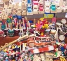 """Taller """"Fabricando juguetes e instrumentos musicales"""""""