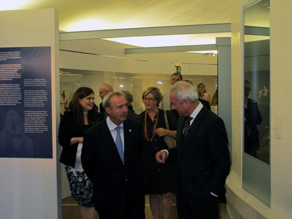 Visita de Dña. Mercedes Bresso y D. Ramón Luis Valcárcel