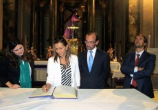 Visita de la directora de ProMéxico para la Península Ibérica, Ximena Caraza y del presidente de Cofides, Salvador Marín