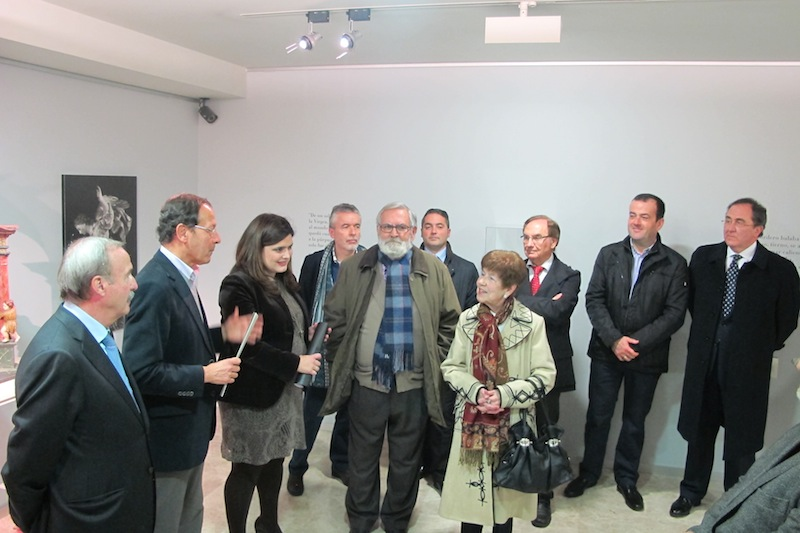 """Inauguración de la exposición temporal """"El belén de Salzillo a través de Nicolás Almansa"""""""