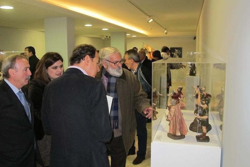 """Visitando la exposición """"El belén de Salzillo a través de Nicolás Almansa"""""""