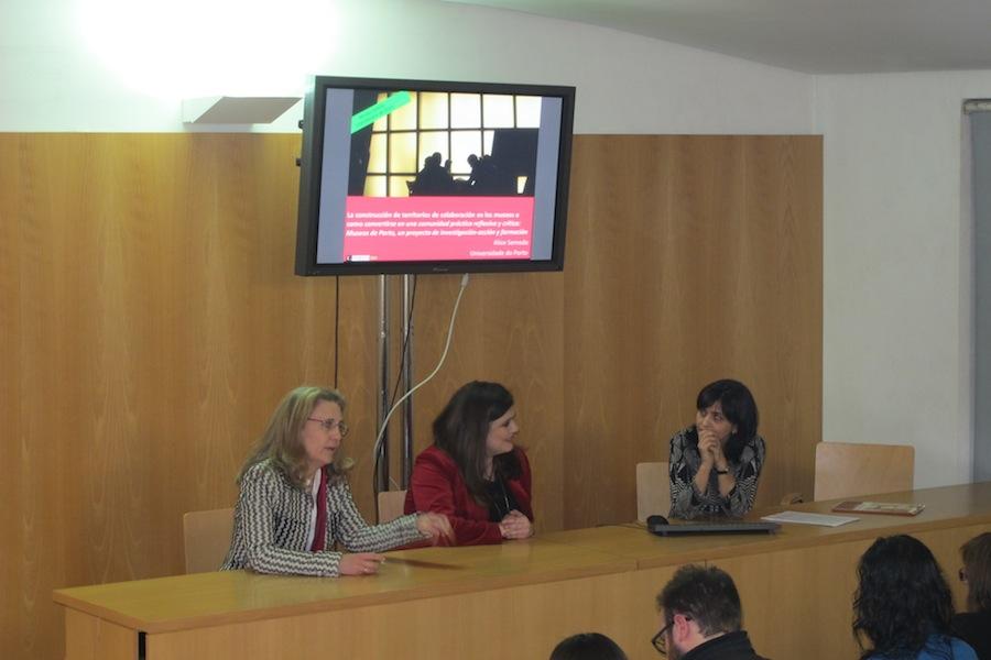 Un momento de la conferencia de Alice Semedo - Museo Salzillo