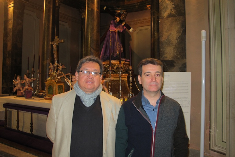 D. Luis Gálvez y D. Luis Eduardo Medina Torres