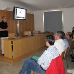 Joaquín Zamora en su charla-coloquio
