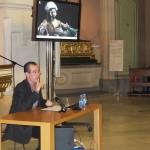 Charla de Juan Miguel durante el Seminario