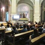 Charla de María Teresa Marín durante el Seminario
