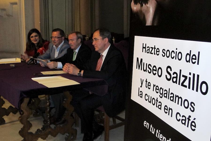 """""""Hazte socio del Museo Salzillo y te regalamos la cuota en café"""""""