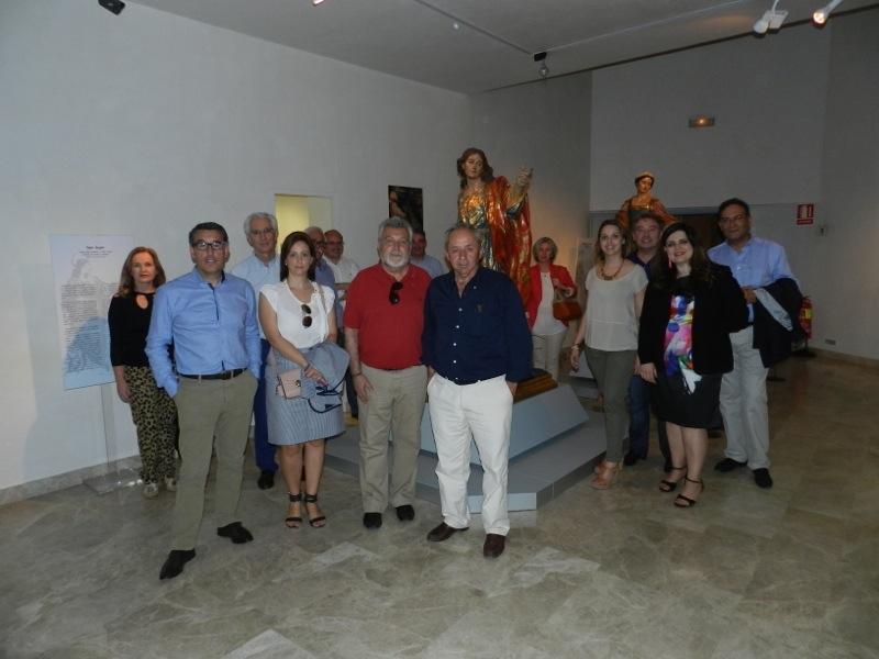 Los Senadores del Reino de Murcia junto a San Juan