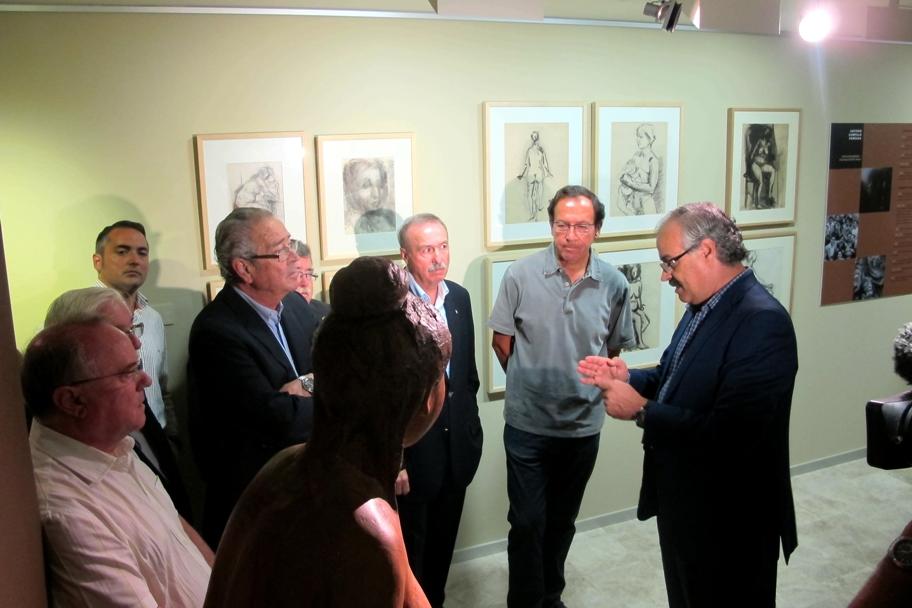 Visita a la exposición temporal de la Fundación Campillo