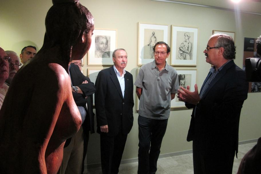 Apertura de la exposición temporal de la Fundación Campillo