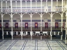 Exposición de Carlos Moisés en el Patio de los Ayuntamientos de la Asamblea Regional de Murcia en Cartagena