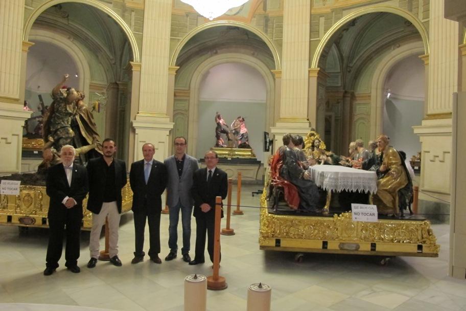 Exposición 250 aniversario de el Prendimiento y la Santa Cena