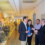 Visita de Miguel Ángel Cámara al Museo Salzillo