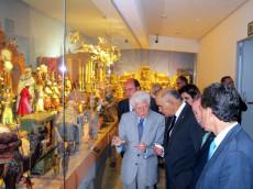 Visita de Garre al Belén Napolitano