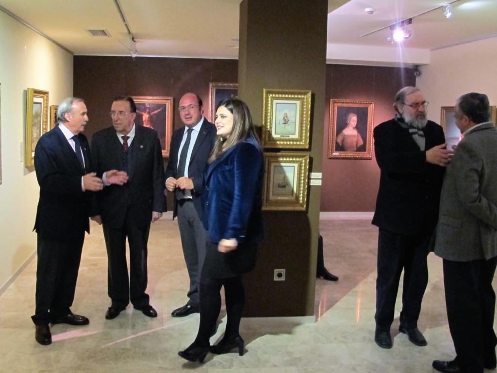 Antonio Gómez Fayrén, Ángel Tomás Martín, Pedro Antonio Sánchez y María Teresa Marín