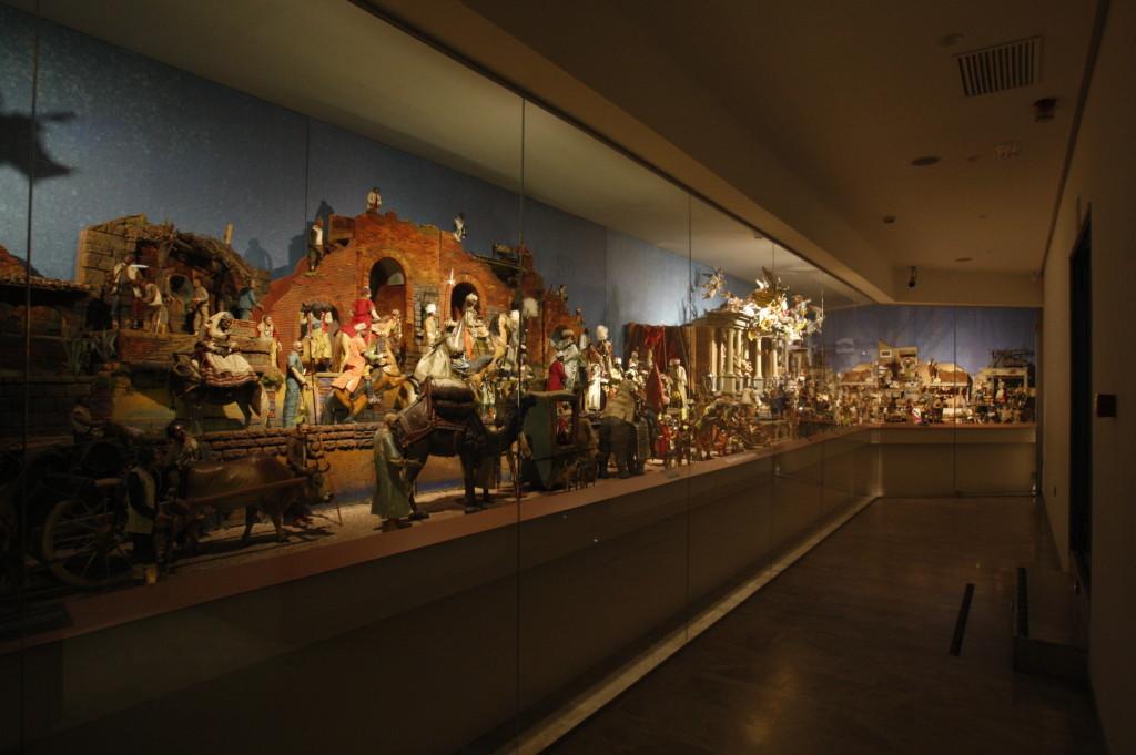 Belén Napolitano en el Museo Salzillo