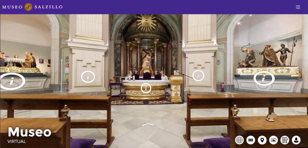 Visita virtual en la Iglesia de Jesús